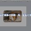 Keynoteで画像の四隅(角)を丸くする方法